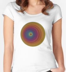 Rainbow Whirlpool Women's Fitted Scoop T-Shirt