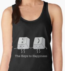 The keys to happiness Women's Tank Top