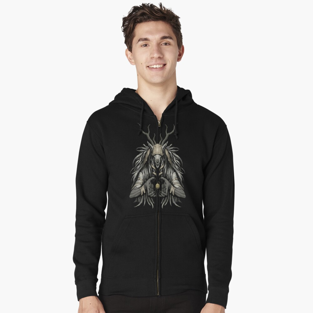 The Supplicant Zipped Hoodie