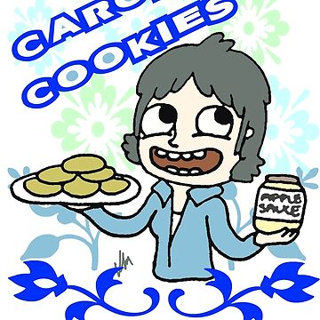 The Walking Dead, Carol's Cookies, Carol Peletier by kaylieghkartoon