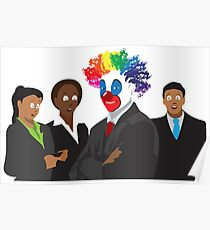 Peculiar People Day - Clown Poster
