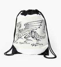Dragón tribal Mochila saco