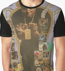 E-40 Discography Graphic T-Shirt