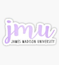 James Madison University - Light Purple Sticker