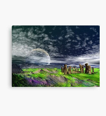Stone Travellers Canvas Print