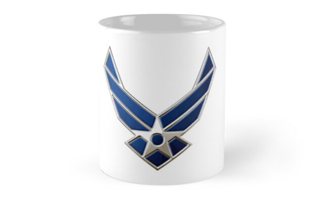 USAF Insignia by Lisa Schneider