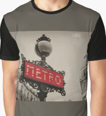 Metro  Graphic T-Shirt