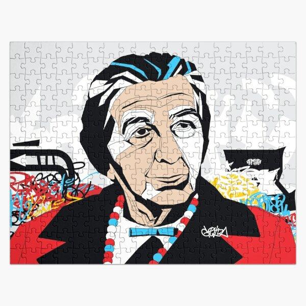 Golda Meir portrait - Pop Art Israeli leader Jigsaw Puzzle