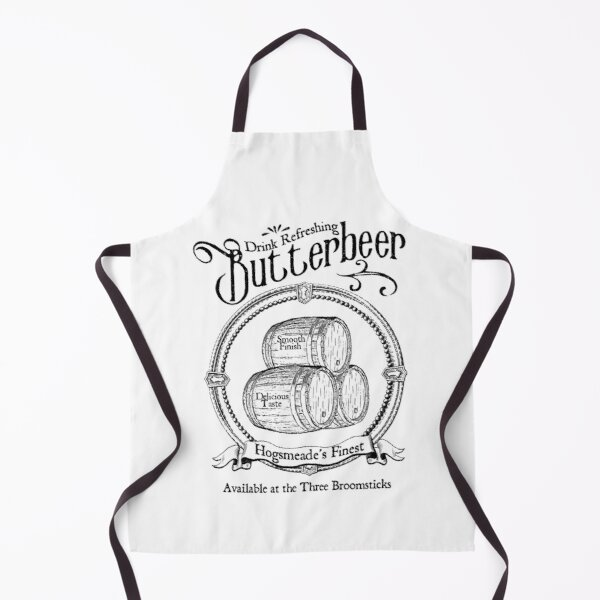Butterbeer Old Style Ad Apron