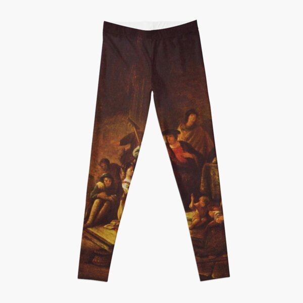 Painting of the parable, by Patrick Paearz de Wet, mid-17th century Leggings