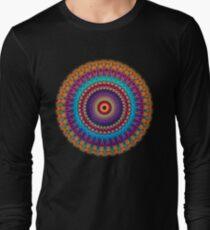 Fire and Ice Mandala Long Sleeve T-Shirt