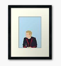 Peeta vector Framed Print