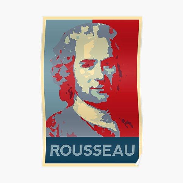 Jean-Jacques Rousseau poster Poster