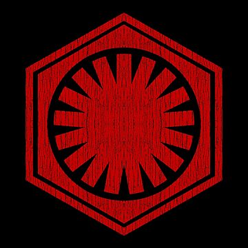 First Order (red, distressed) by ianscott76