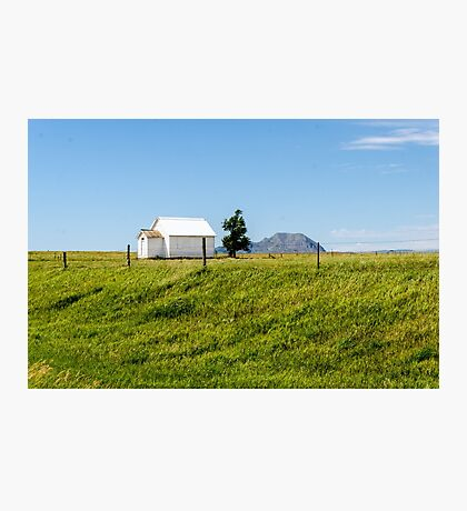 Little School On The Prairie  Photographic Print