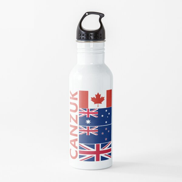 CANZUK flag Graphic Water Bottle