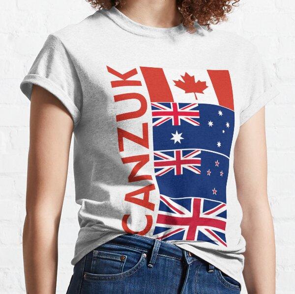 CANZUK flag Graphic Classic T-Shirt