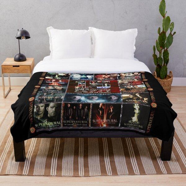 Supernatural 15 Seasons Throw Blanket
