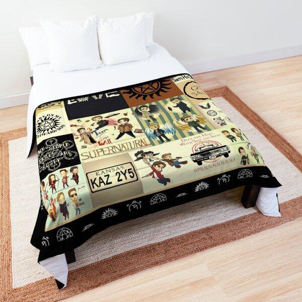 Supernatural 15 Seasons Comforter