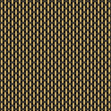 British-style black and tan amplifier grill cloth by southpawmiller