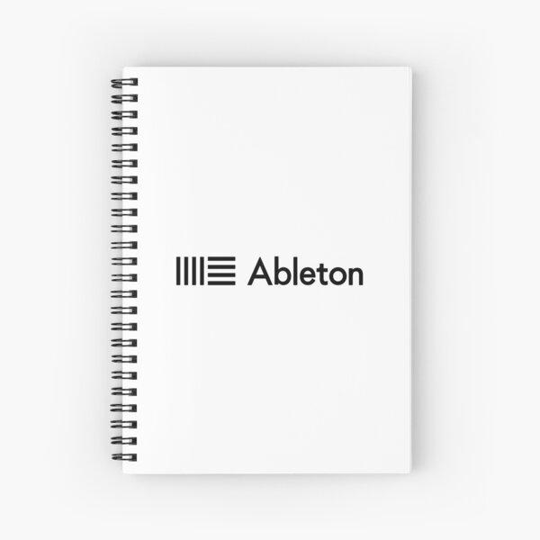 Ableton Live Logo Spiral Notebook