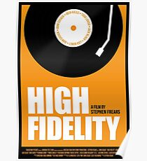 High Fidelity film poster Poster