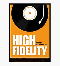 High Fidelity film poster Photographic Print