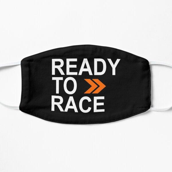 Prêt pour la course! Masque sans plis