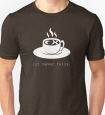 FK in the coffee. It never fails. [Deadly Premonition, dark shirt] Unisex T-Shirt
