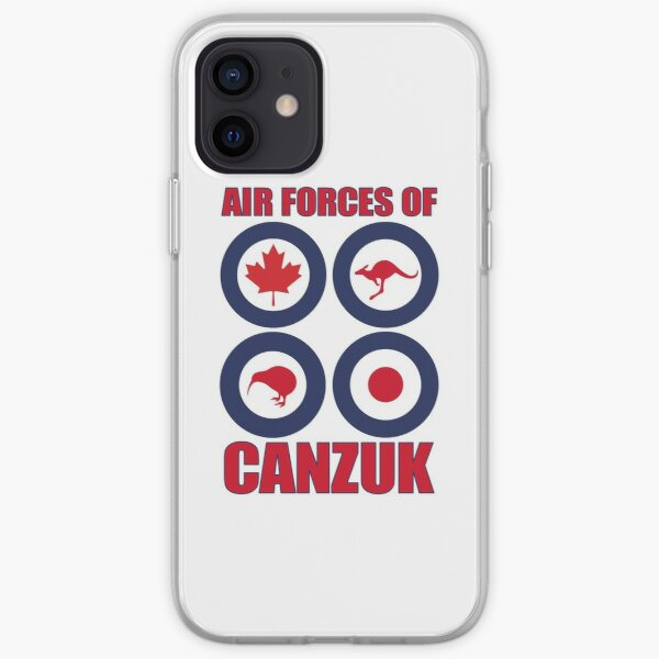 Air Forces of CANZUK roundels graphic iPhone Soft Case
