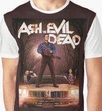 Ash vs Evil dead tv series Graphic T-Shirt