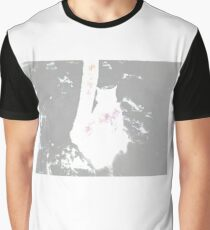 Snow Cat Whiteout Graphic T-Shirt