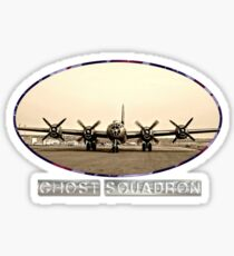 Ghost Squadron B-29 Bomber Sticker