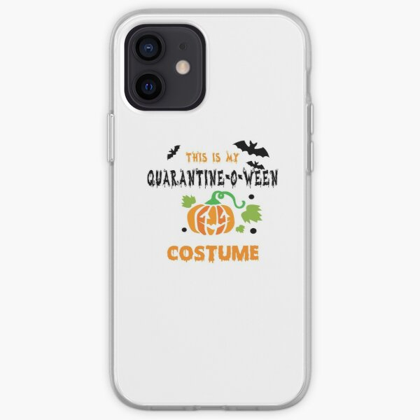 this is my quarantine o ween costume iPhone Soft Case