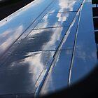 Cloudscapes auf einem Flügel von Laura Puglia