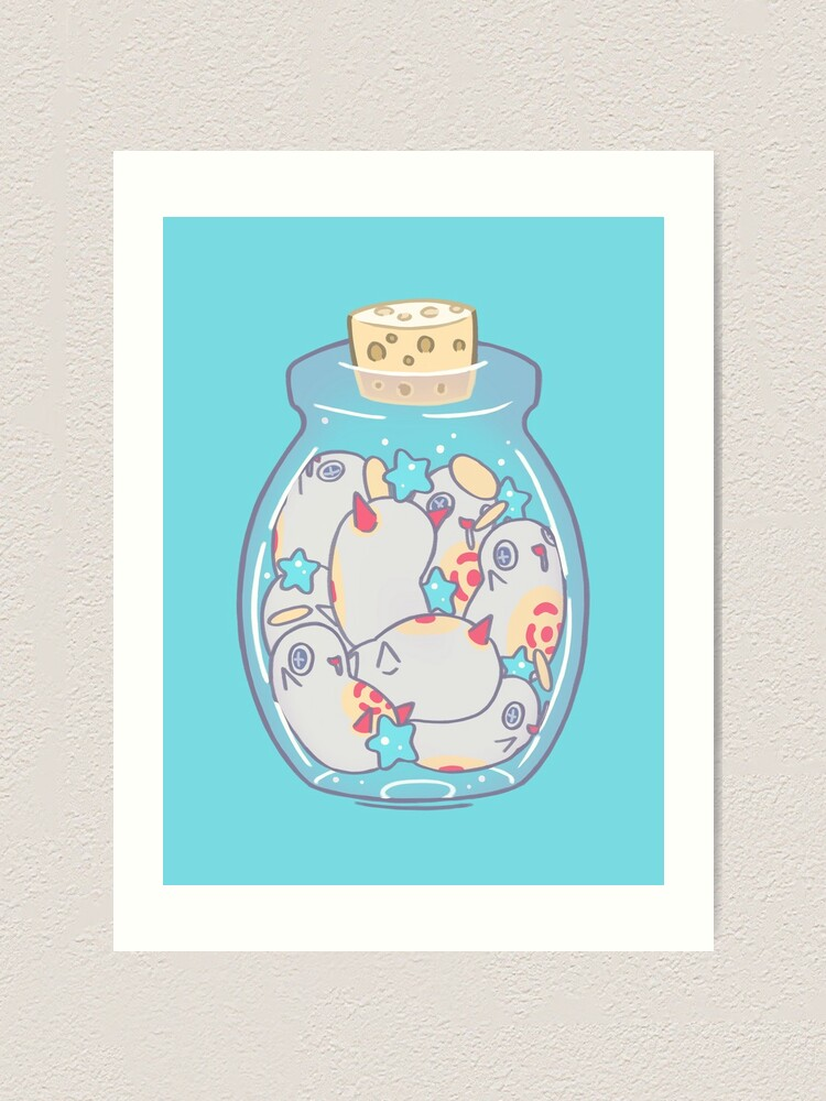 Alternate view of Jar of Cherubas Art Print