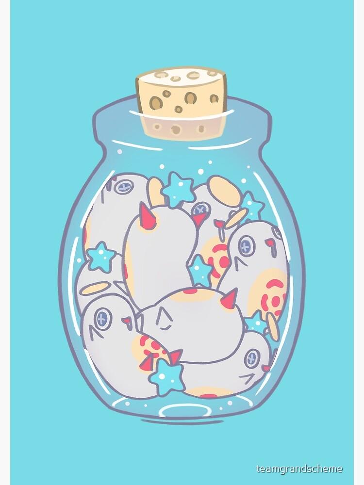 Jar of Cherubas by teamgrandscheme