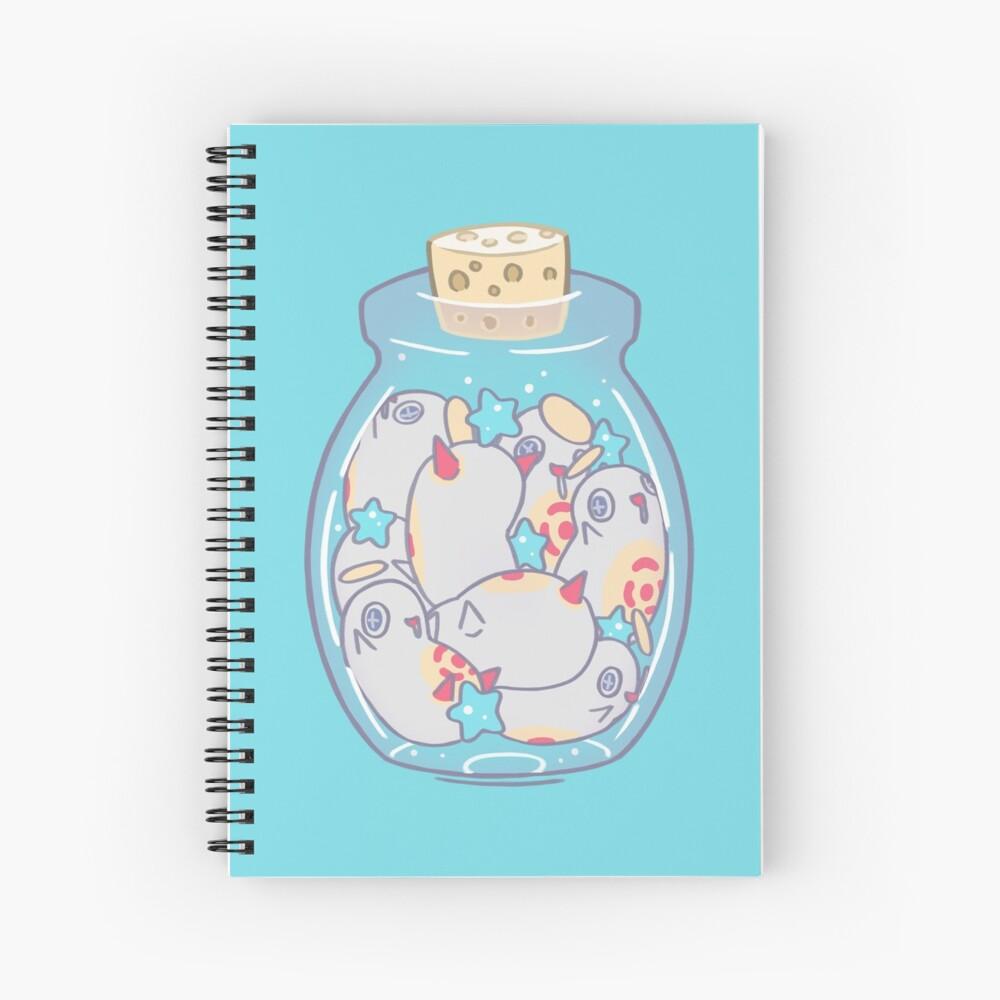 Jar of Cherubas Spiral Notebook
