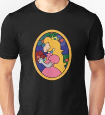 Princess Peach Stained Glass T-Shirt