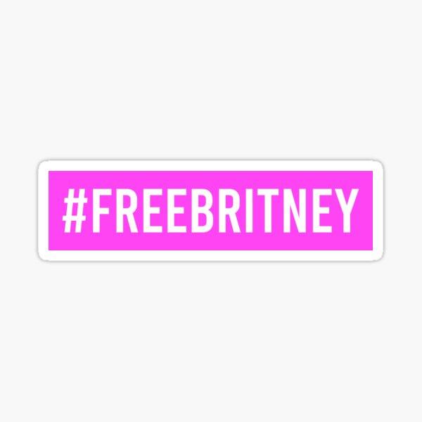 FREE BRITNEY #freebritney Sticker