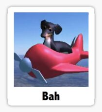 "Dog of Wisdom - ""Bah"" Sticker"
