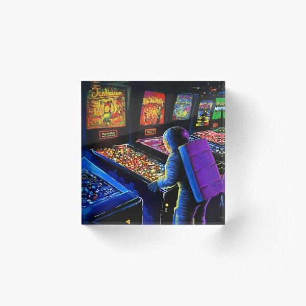 Pinball Wizard Acrylic Block