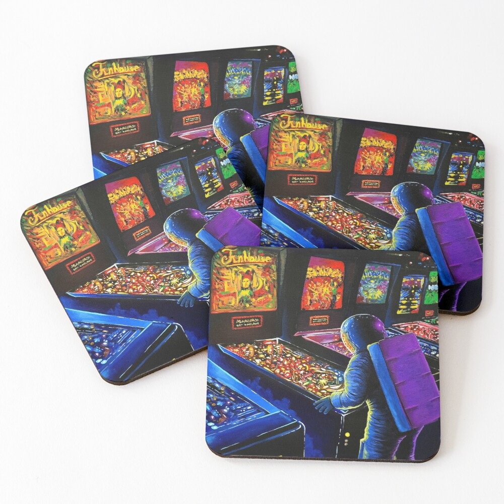 Pinball Wizard Coasters (Set of 4)