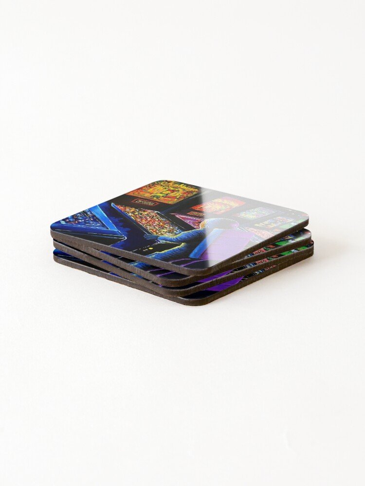 Alternate view of Pinball Wizard Coasters (Set of 4)