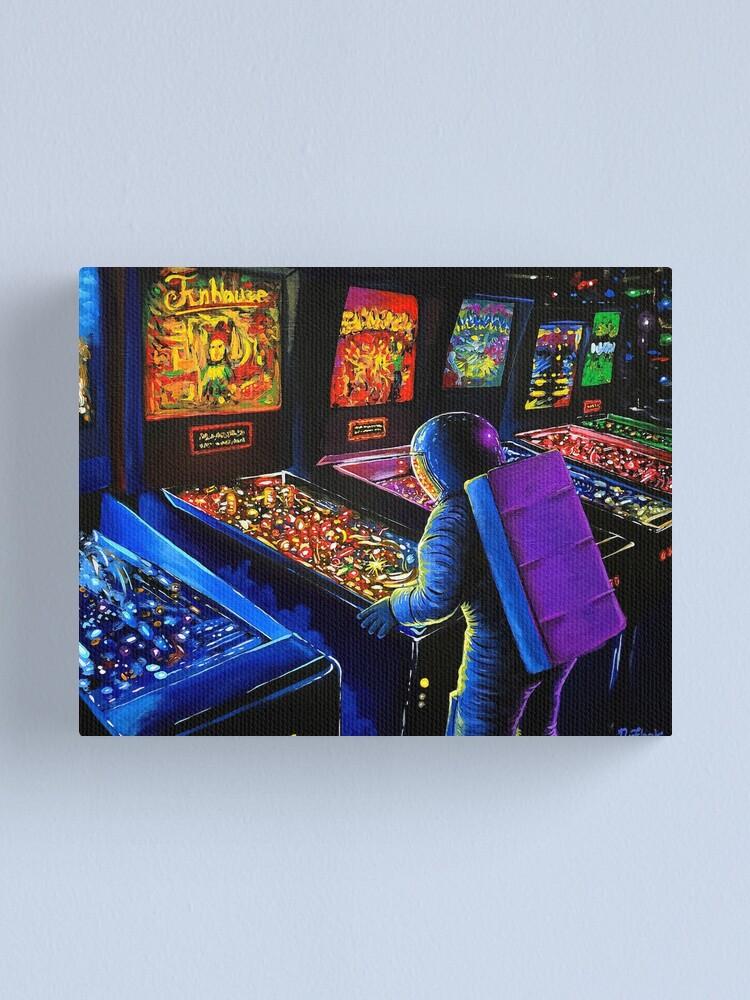 Alternate view of Pinball Wizard Canvas Print