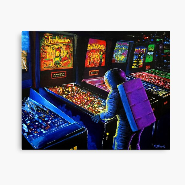Pinball Wizard Canvas Print