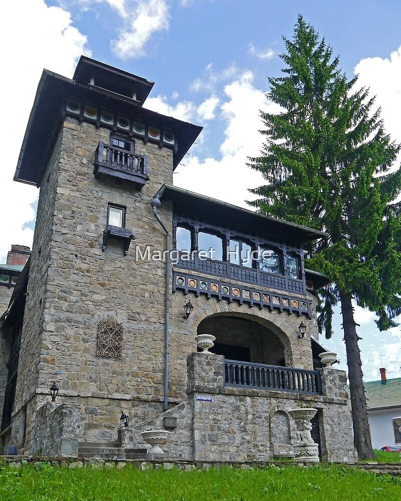 House, Sinaia, Romania by Margaret  Hyde