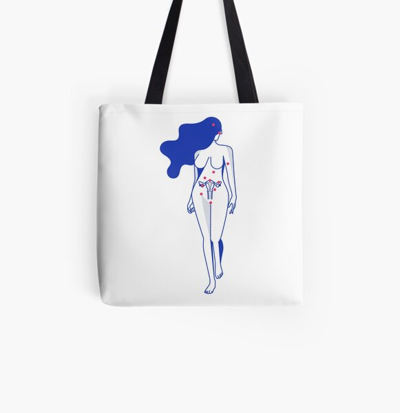 Endodame stor All Over Print Tote Bag