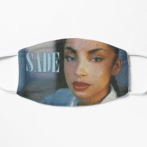 Sade in Light Blue Mask