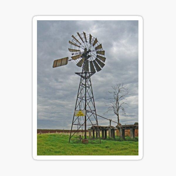 Old Windmill Sticker